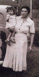 Grandma Rosemarie as a baby